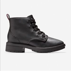 Cole Haan Briana Grand Lace-Up Hiker Boot NWT